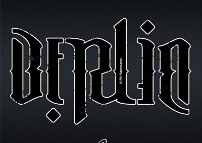 "Ambigramm ""Berlin"""