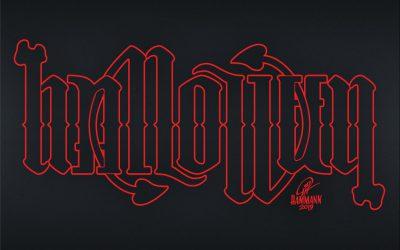 Ambigramm Halloween
