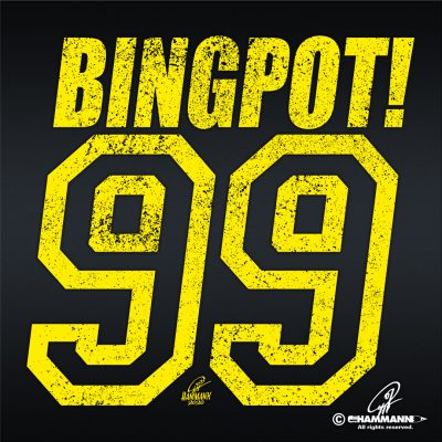 "Handlettering ""99 – Bingpot"" © Pit Hammann 