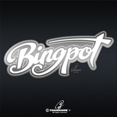 "Handlettering ""Bingpot"" © Pit Hammann 