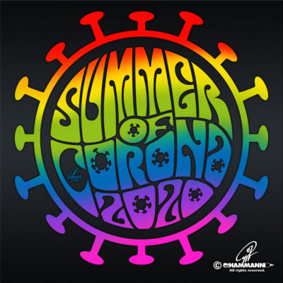 "Handlettering ""Summer of Corona 2020"""