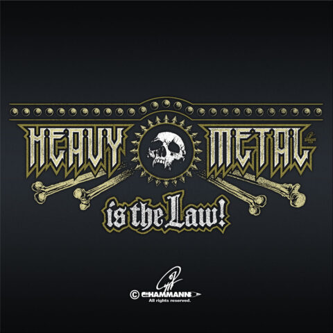 Handlettering Heavy Metal is the Law!