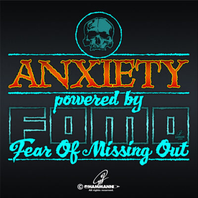 Lettering Anxiety – powered by FOMO – Fear Of Missing Out