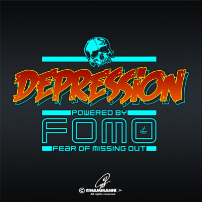 Lettering Depression – powered by FOMO – Fear Of Missing Out 1