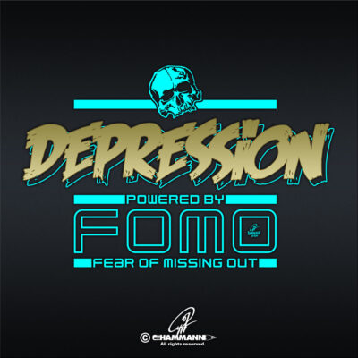 Lettering Depression – powered by FOMO – Fear Of Missing Out 2