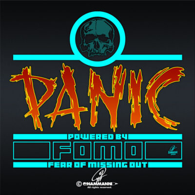 Lettering Panic – powered by FOMO – Fear Of Missing Out