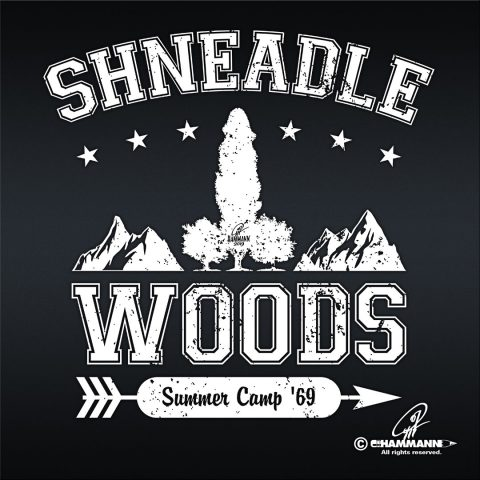 "Handlettering ""Shneadle Woods 02"""
