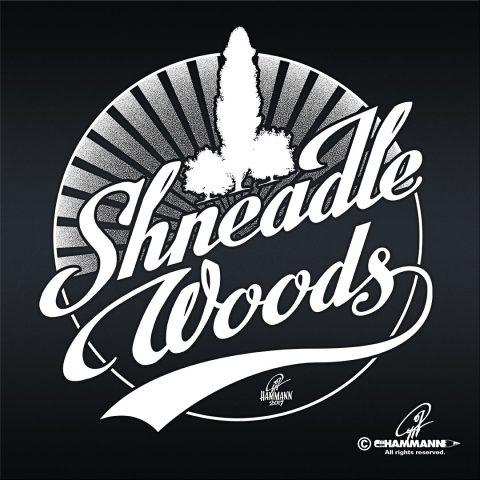 "Handlettering ""Shneadle Woods"""