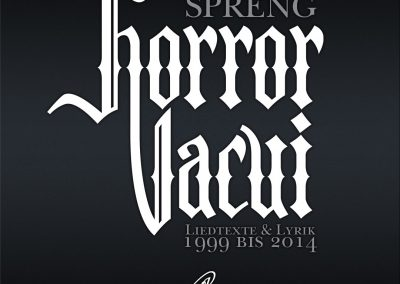 Handlettering Auftrag – Band: ASP | Buch: Horror Vacui © Pit Hammann | all rights reserved