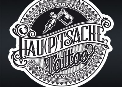 Handlettering Auftrag Hau(p)tsache Tattoo © Pit Hammann | all rights reserved
